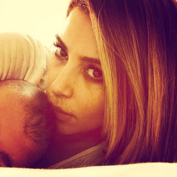 Kim Kardashian Shares Sweet Tweet About Baby North West!