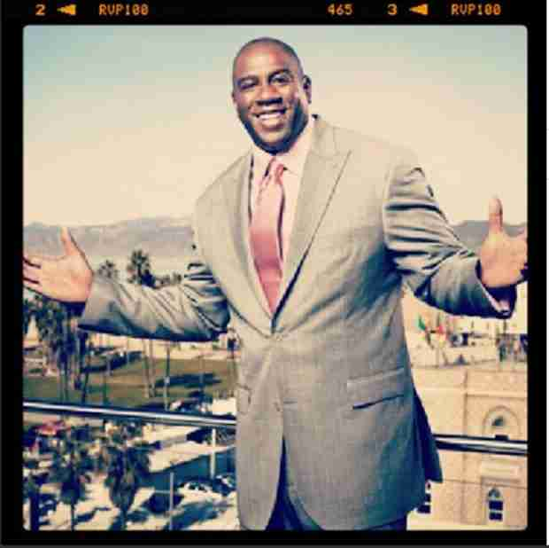 Clippers Owner Donald Sterling Insults Magic Johnson in Racist Rant — Celebs React!