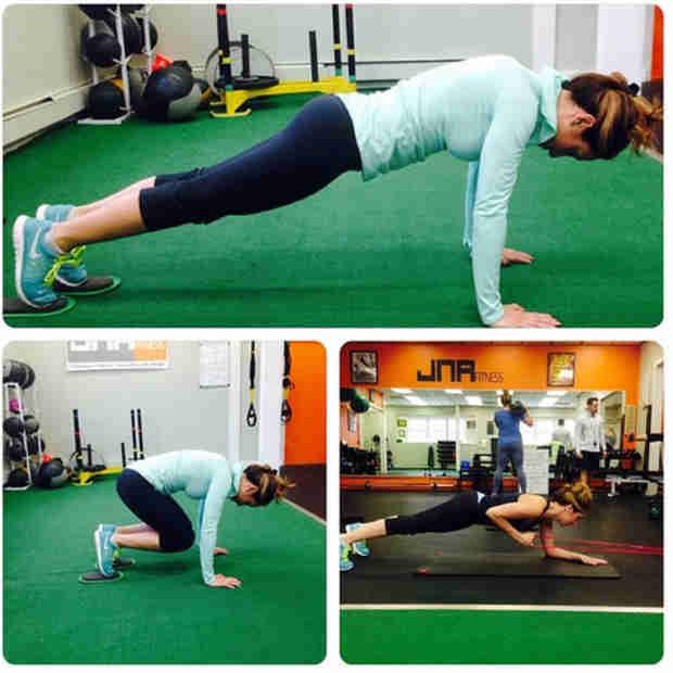 Melissa Gorga Works Out Hard (PHOTO)