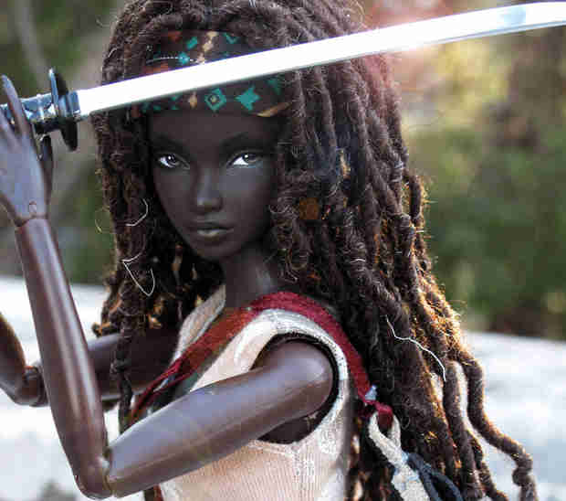 The Walking Dead: This Michonne Doll Is Awesome, But Can You Buy One?