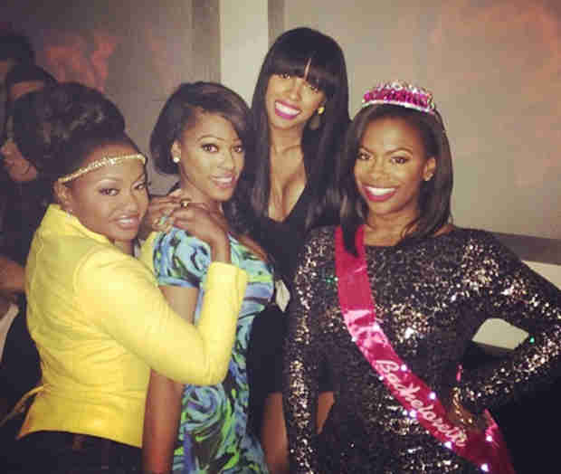 Who Are Kandi Burruss's Bridesmaids in Her Wedding?