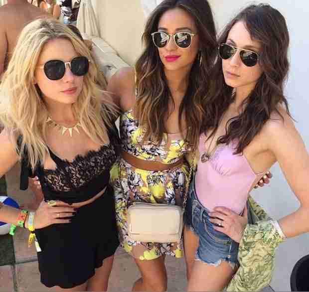 Pretty Little Liars at Coachella — Which Liar's Desert Style Would You Rock? (PHOTO)