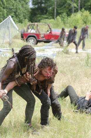 The Walking Dead Season 5: Rick and Michonne Have a Baby — But There's a Catch! (VIDEO)