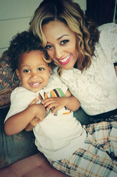 Will Tia Mowry's Son, Cree, Star in a Possible Sister, Sister Movie?