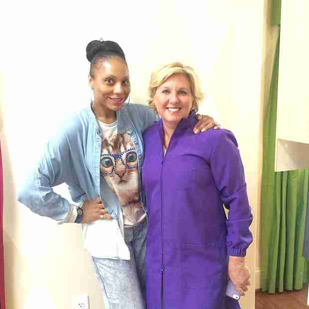 Tamar Braxton Gets Comfy and Goes Makeup Free! (PHOTO)
