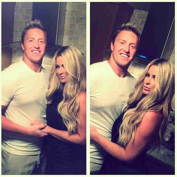 Kim Zolciak and Kroy Biermann Celebrate Spin-Off With First Date Night of 2014! (PHOTO)