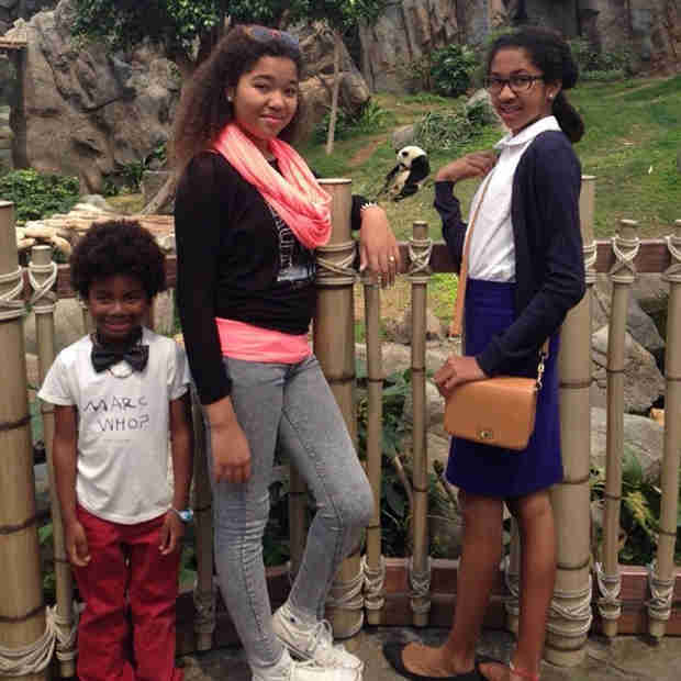 Kimora Lee Simmons's Trip With Her Kids — Look How Grown Up They Are! (PHOTO)
