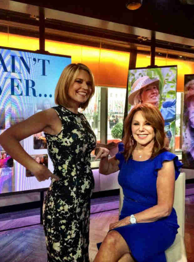 Savannah Guthrie Shows Off Her Growing Baby Bump (PHOTO)