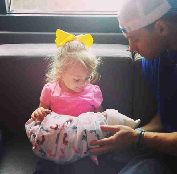 Melissa Rycroft Shares First Picture of Baby Son Beckett! (PHOTO)