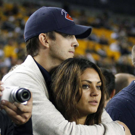 Engaged Mila Kunis and Ashton Kutcher Joke About Their Romance on Two and a Half Men (VIDEO)