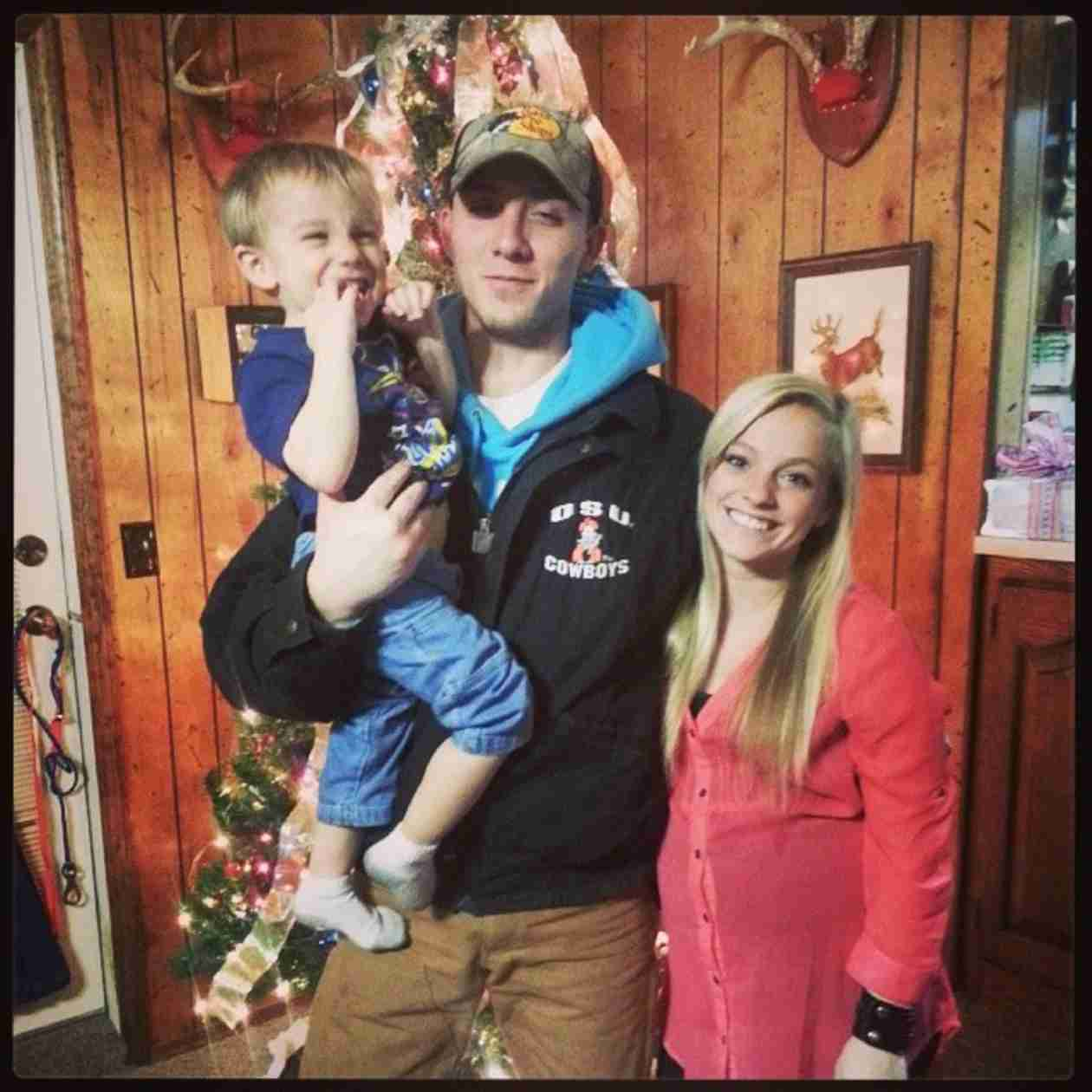 Mackenzie Douthit Shares a Family Portrait — See How Big Gannon and Jaxie Are! (PHOTO)