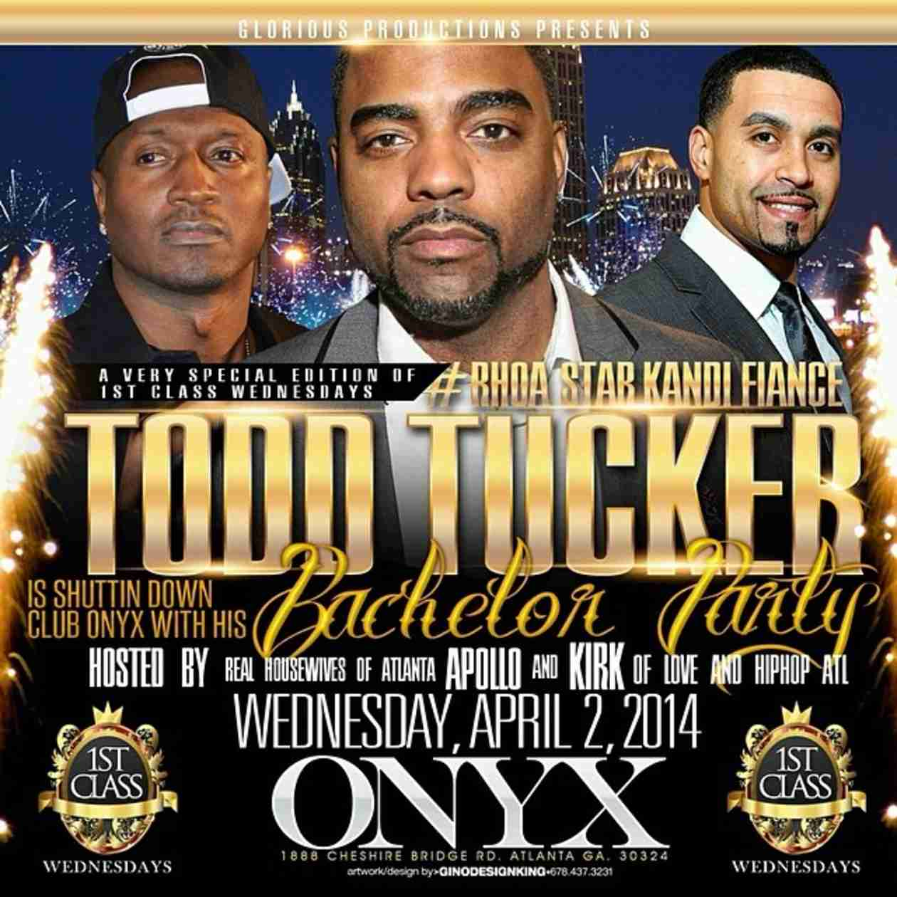 Todd Tucker to Throw Bachelor Party With Apollo Nida and Kirk Frost