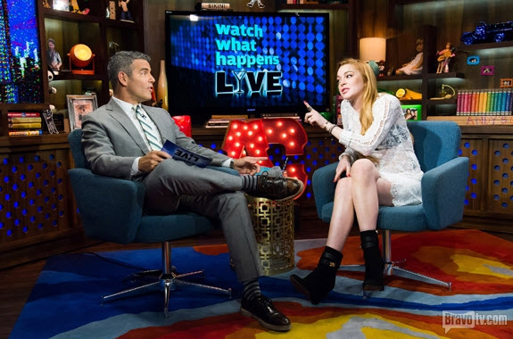 Lindsay Lohan to Andy Cohen: Put Jill Zarin and My Mom on RHoNY!