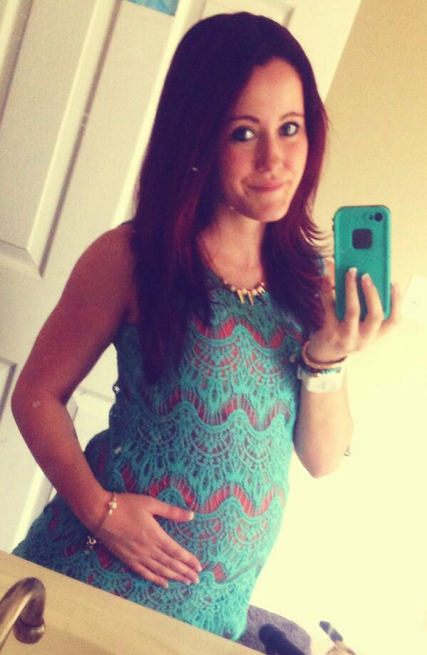 Jenelle Evans Can't Button Up Her Shirt Anymore — See Why! (PHOTO)