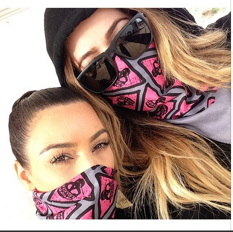 Kim and Khloe Kardashian Get Covered in Mud at Event — What Happened? (VIDEO)