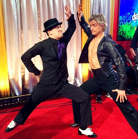 Dancing With the Stars 2014 Recap: Latin Night — Shirts Off, Injuries On!