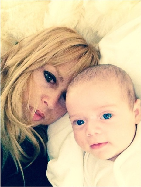 Rachel Zoe's Son Skyler Feeds Baby Brother Kaius His Bottle — See the Adorable Pic!