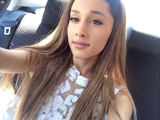 Ariana Grande Shows Off Her New Tattoo in Sexy Selfie — What Does Her Ink Say? (PHOTO)