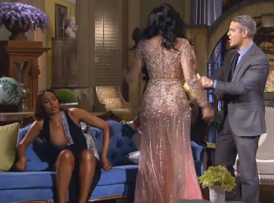 Cynthia Bailey's Nip Slip During the RHoA Reunion Brawl — Did You Catch It? (VIDEO)