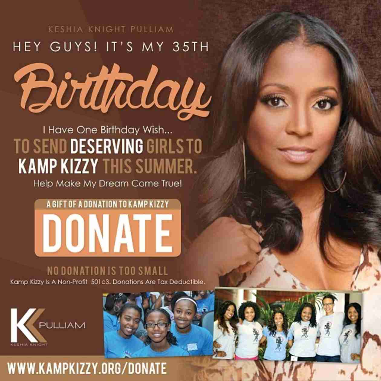 The Cosby Show Star Keshia Knight Pulliam Turns 35 Today! (PHOTO)