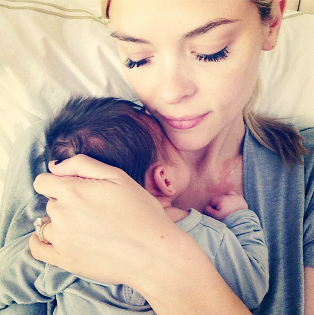 See How Big Jaime King's Son, James Knight, Is! (PHOTO)