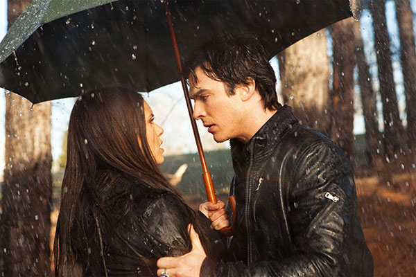 The Vampire Diaries Burning Question: Do Damon and Elena Make an Epic Romance?