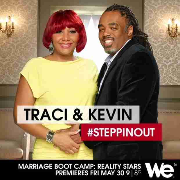 Traci Braxton Reveals First Promo Pic For Marriage Boot Camp: Reality Stars (PHOTO)