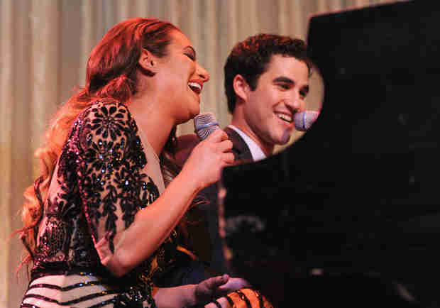 """Watch Lea Michele and Darren Criss Sing """"Somewhere Over the Rainbow"""" (VIDEO)"""