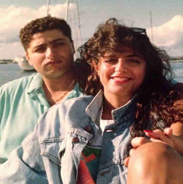 Check Out This Old-School Pic of Kathy and Richard Wakile!
