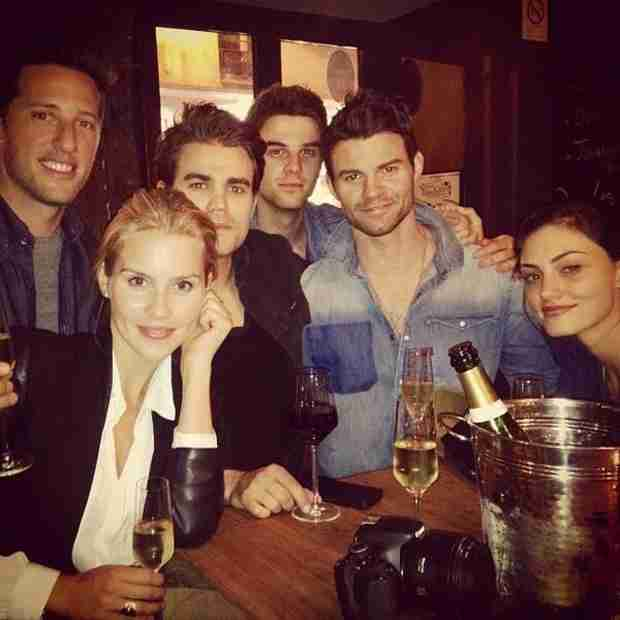 The Originals Cast Meets Up With Paul Wesley in Paris (PHOTO)