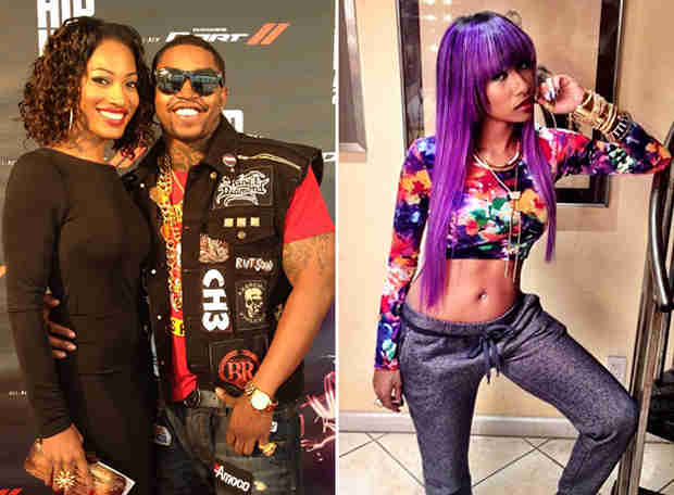 Erica Dixon Says Lil Scrappy Didn't Abuse Ex-Girlfriend Diamond