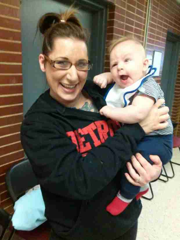 16 and Pregnant's Millina Kacmar's Mom Finally Meets Baby Kayden!