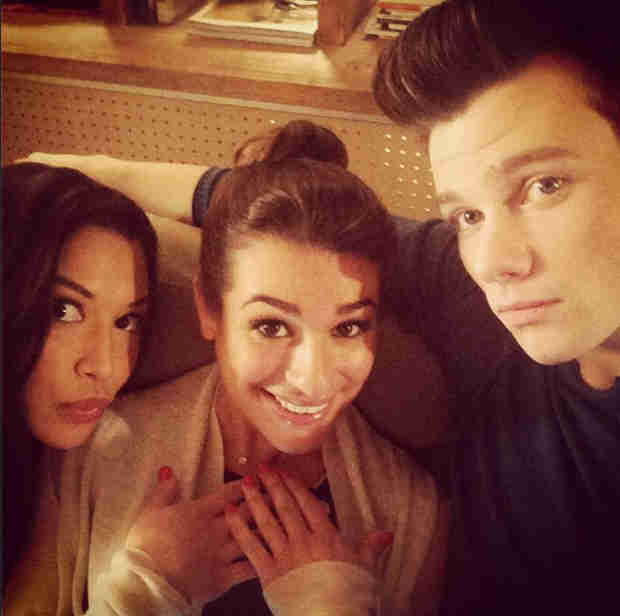 "Lea Michele and Chris Colfer's Trivia Battle ""Part Deux"": Who Won This Time? (VIDEO)"
