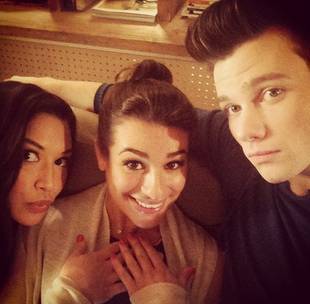 """Lea Michele on Rumors of a Fight With Naya Rivera: """"I Wasn't Even at Work!"""""""