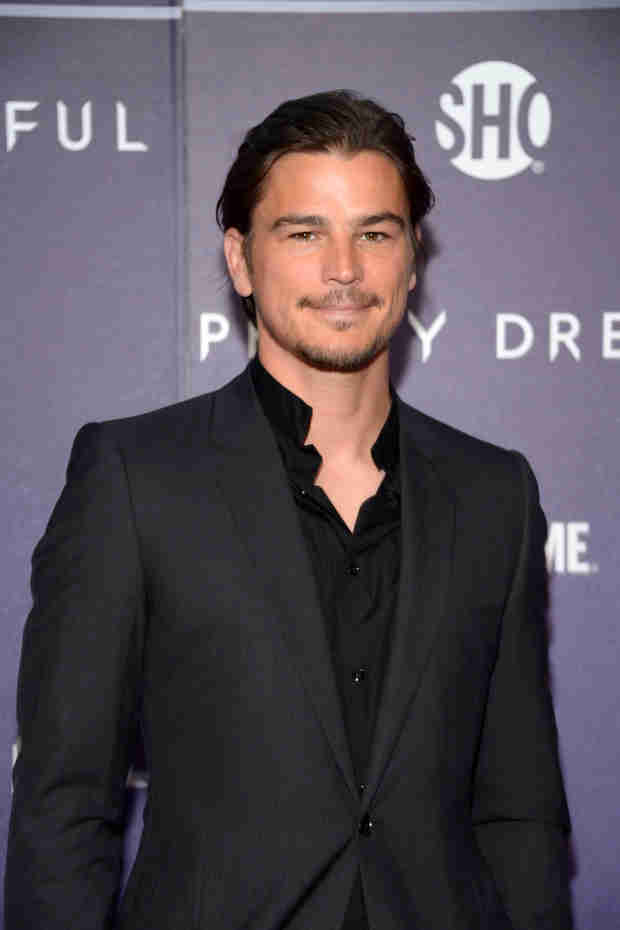 What Oldies Band Is Josh Hartnett Listening to These Days?