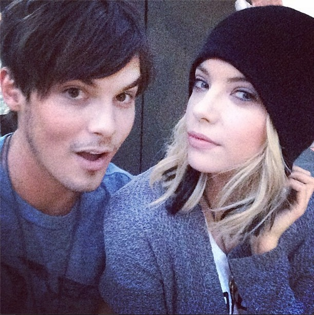 Pretty Little Liars 100th Episode: Check Out Hanna and Caleb's Reunion! (PHOTO)