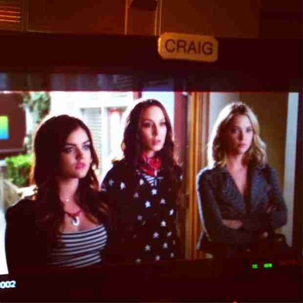Pretty Little Liars 100th Episode Photo: The Liars Don't Look Happy