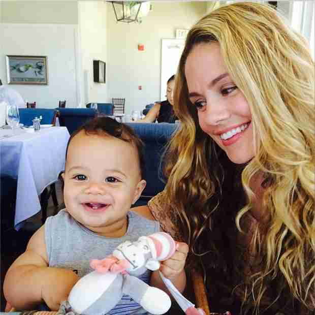 Who Does Rocco Faison Look More Like Mom or Dad? (PHOTO)