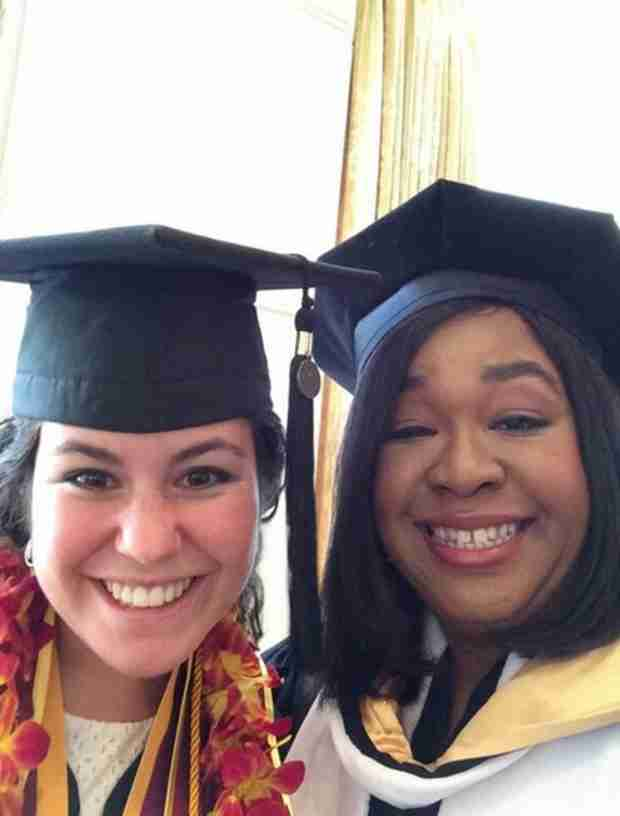 Shonda Rhimes Received Honorary Doctorate at USC, Speaks at Commencement (PHOTO)