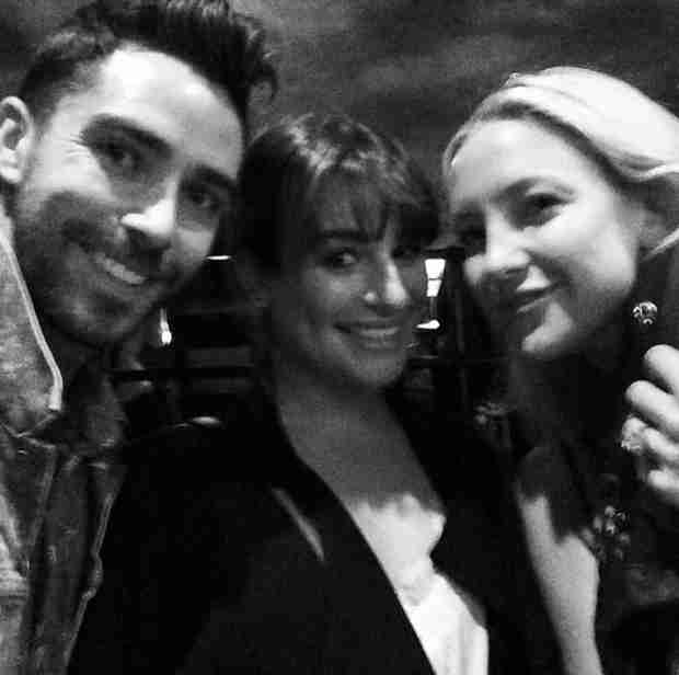Lea Michele, Kate Hudson Catch a Broadway Show Together (PHOTO)