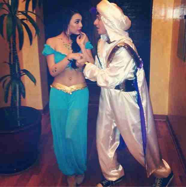 Janel Parrish and Boyfriend Payson Lewis Are Jasmine and Aladdin (PHOTO)