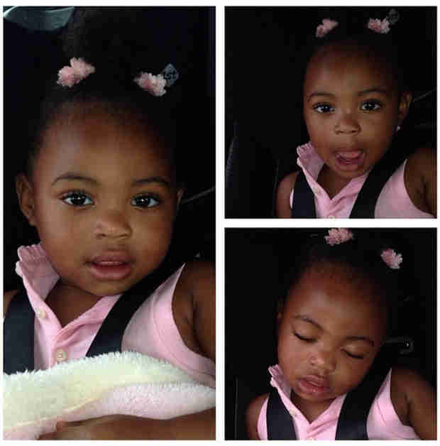 NeNe Leakes's Gorgeous Glam Baby Bri'Asia Is Getting So Big — See Her Now! (PHOTOS)