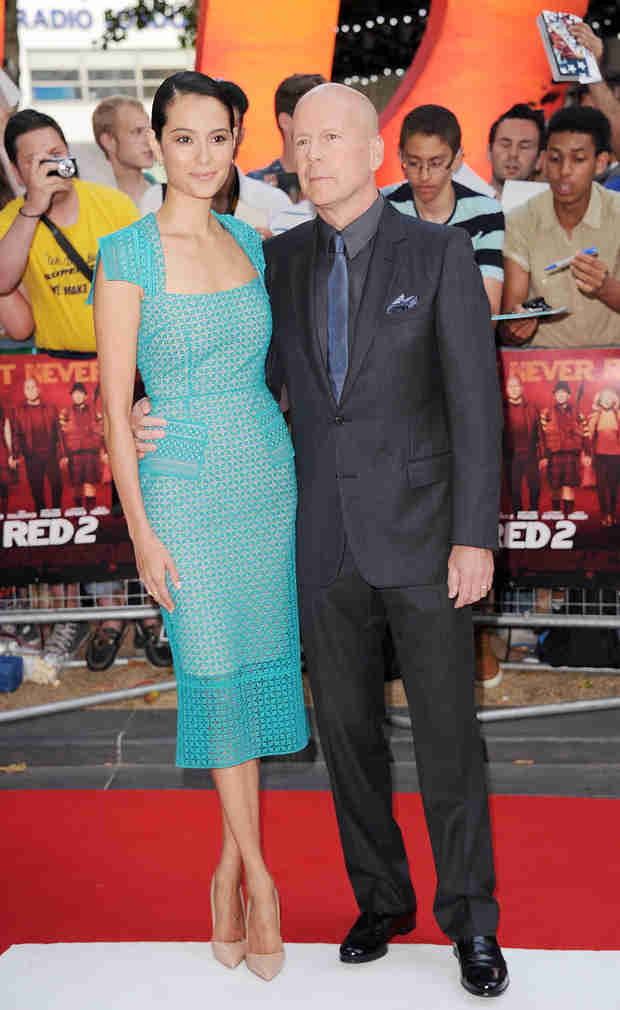 59-Year-Old Bruce Willis and His Second Wife Welcomes Second Daughter, Evelyn Penn! (VIDEO)