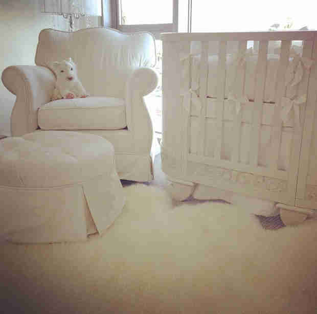 Get a Look Inside Ciara's All-White Nursery! (PHOTO)