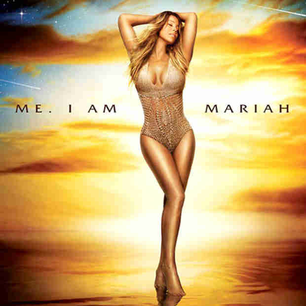 Mariah Carey Wears Sexy Nude Bikini For New Album Cover Art (VIDEO)