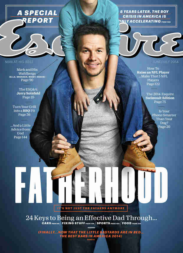 """Mark Wahlberg on Fatherhood: """"I Don't Want Them to Be Terrified of Me"""""""