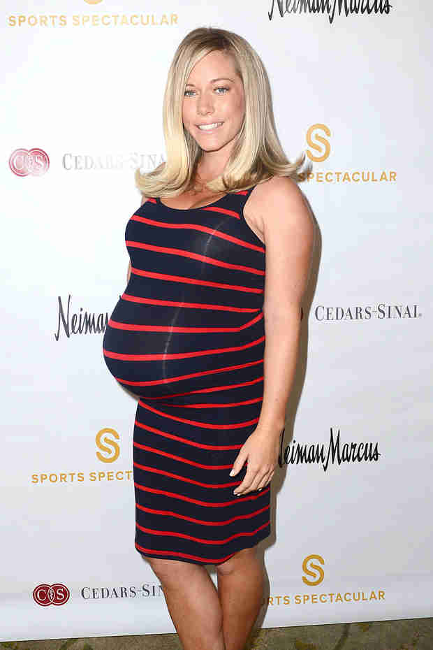 """Kendra Wilkinson on Her """"Brutal"""" Pregnancy, Cravings, and Getting Her Body Back — Exclusive"""
