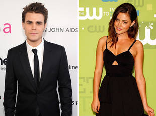 Paul Wesley and Phoebe Tonkin Have a Date Night in West Hollywood