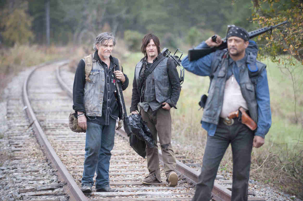 "The Walking Dead Season 4: Jeff Kober Talks Joe's ""Very Special Death"""