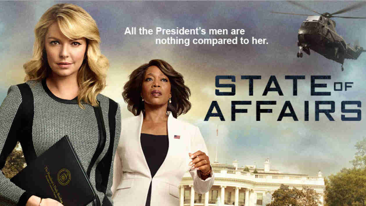 First Trailer Released For Katherine Heigl's New NBC Drama, State of Affairs